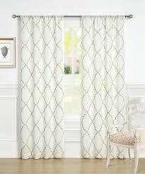 Kohls Sheer Curtain Panels by Amazon Com Laura Ashley Windsor 96
