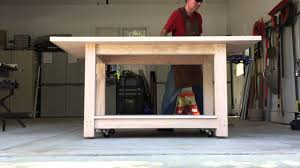 13 Woodworking Workbench On Wheels Doors Crbogercom Workbenches