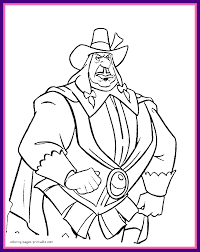 Awesome Disney Villains Coloring Pages For Kids Image Maleficent Ideas And Style