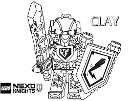 LEGO Nexo Knights Coloring Pages Free Printable Best Of