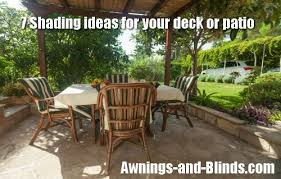 7 Ideas For Outdoor Shades For Your Patio Deck Terrace