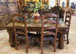 Rustic Mexican Furniture Dining