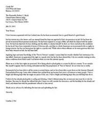 Letter To A Judge Template letter of re mendation