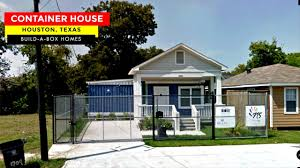 100 Container Box Houses BuildA Homes 1709 Dan St House In Houston TX