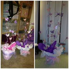 Butterfly Centerpieces I MADE For A Baby Shower Made By