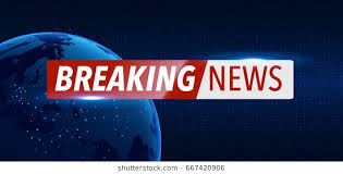 Breaking News Background Planet 260nw 667420906