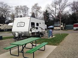 Almond Tree RV Park Nice Clean Level Gravel Pad
