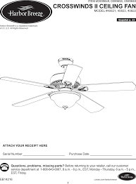 Harbor Breeze Ceiling Fan Issues by Rt01a Fan Remoter User Manual Hong Kong China Electric Manufacture