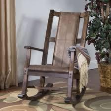Wayfair Rocking Chair Nursery by Rustic Rocking Chairs You U0027ll Love Wayfair