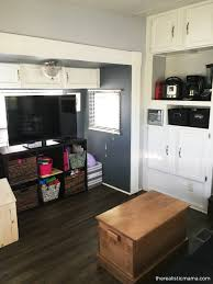 RV Remodel 200 Square Foot Tiny Home Before And After Pictures