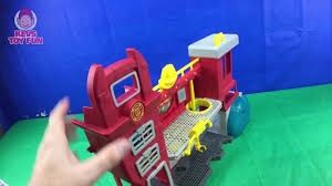 Transformers Rescue Bots Fire At The Griffin Rock Garage, Blades ...