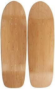 amazon com moose old school skateboard deck 10 x 33 natural