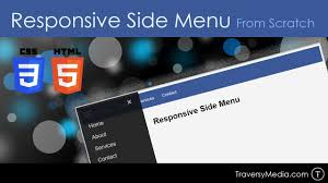 Responsive HTML & CSS Side Menu From Scratch - YouTube Responsive Navigation Menu Bar Html Css Jquery Youtube Drmweaver Horizontal Spry Explained In Depth Drop Top Bar Html Wikiwebdircom Css Form Tag Breaks Navigation On Google Chrome Only Down 1 Of 2 With And Move Ajax Search From Top To Main Header 10 Selling Soaps Tag Rated Soap Soaps How Unlock Blogger Widgets Georgia Lou Studios Manage Rambo Theme Webriti Help Centre