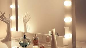 light bulb vanity mirror with light bulbs around it fascinating in