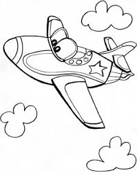 Airplane Coloring Pages Here Is A Wonderful Collection Of Airplanes For You