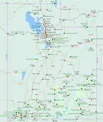 State Of California County Map Maps Utah And National Park