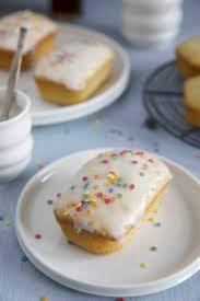 mini funfetti cakes ohne ei