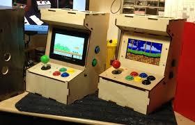 pi raspberry pi mini arcade cabinet