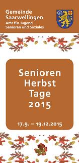 senioren herbst tage 2015