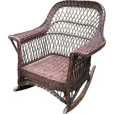 Vintage Bar Harbor Natural Wicker Arm Rocker Circa 1920's | Wicker ... Kingsley Bate Culebra Wicker Rocker Mainstays Willow Springs Outdoor Ding Chair Blue Set Of 5 Coco Cove Light Rocking Products Splendid Just Another Wordpress Site Better Homes Gardens Hawthorne Park Brickseek Chairs Cracker Barrel Antique Click Photos To Enlarge This Maple Tortuga Portside Steel With Navy Cushion Canada Classic Fniture Vintage Used Patio And Garden Chairish Lloyd Flanders Oxford Lounge Wickercom Amazoncom Brylanehome Roma Allweather Stacking