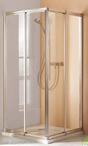 eckdusche schiebetüren maßanfertigung bis 990x990x1850 mm bxh 4 teilig acrylglas silber matt