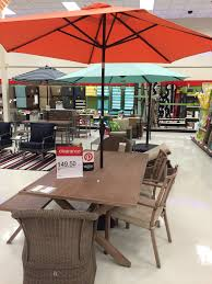 Target Patio Set With Umbrella by Stunning Target Outdoor Furniture Image Ideas Patio Com 52