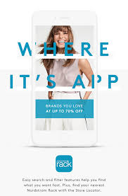 Nordstrom Rack Take Nordstrom Rack to go with our app