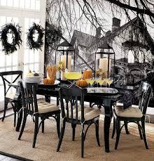 Easy Halloween Dining Room Decorating Ideas Decoration Spooky Indoor