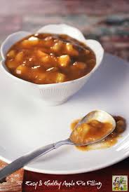 Ingredients For Pumpkin Pie Mix by How To Make An Easy U0026 Healthy Apple Pie Filling For All Your