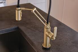 Articulating Kitchen Sink Faucet by The Litze Kitchen Collection