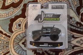 100 Just Trucks Amazing 2018 Jada Metals 2006 Hummer H1 Police Black 1