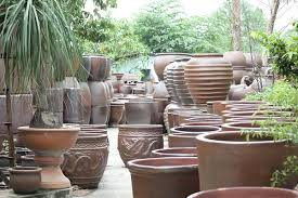 Crafty Garden Pots Cheap Nice Decoration Outdoor Planter Vietnam Rustic Terracotta Wholesale