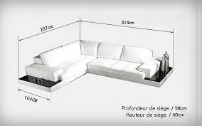 canapé d angle design italien canapé d angle design en cuir loretto avec casiers de rangement