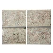100 Sea Shell Design Antique Tile With Shell 6 X 4 Old Bridge Tile Co