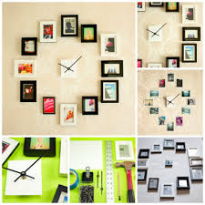 Clock Decoration For Living Room Areas Image Amusing Images Of Picture Collage Wall Decor Design Ideas Astonishing