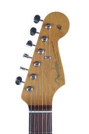 2011 Fender Artist Series John Mayer Stratocaster Olympic White