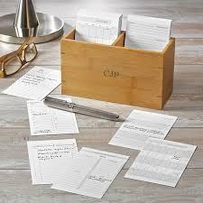 levenger mini nantucket desk nantucket note card box with calendar cards 2016 levenger the
