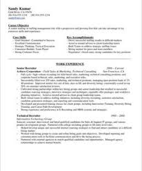 Operations Manager Resume Sample HR Recruiter Page1