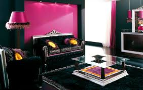 Grey And Purple Living Room Wallpaper by Bedroom Pleasing Black Living Rooms Purple And Room
