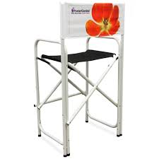 Aluminum Directors Chair Bar Height by Postergarden Chairs Directors Chair