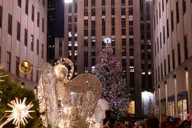 Christmas Tree Rockefeller Center Live Cam by In New York City For The Holidays The Travel Bug Geek