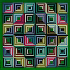 Michell Fat Quarters Log Cabin Quilt Pattern