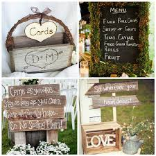 Rustic Wedding Fun And Whimsical Signs