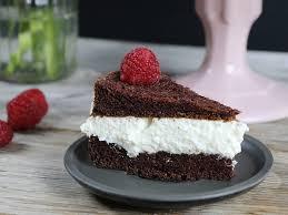 low carb milchschnitten torte