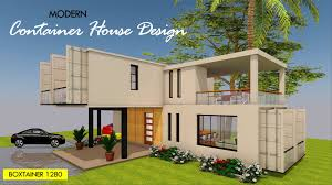 100 Container Homes Design Modern House Floor Plan BOXTAINER 1280X