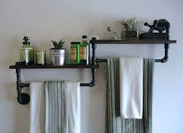 Bathroom Wall Cabinet With Towel Bar by Stupefying Bathroom Cabinet With Towel Rack U2013 Elpro Me
