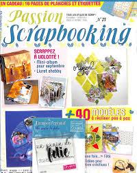 Abonnement Passion Scrapbooking Magazine