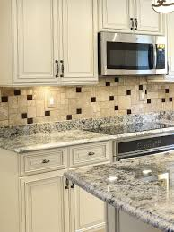 Kitchen Countertops And Backsplash Pictures Ba1043 Travertine Glass