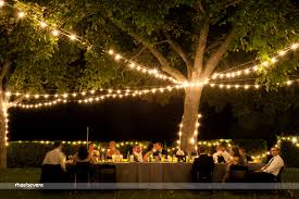 Lighting For Outdoor Party Decoration Wedding Elegant Couple Amid Big Old Trees Google Search