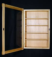 Wall Curio Cabinet Display Case Shadow Box Choosing Modern Cabinets